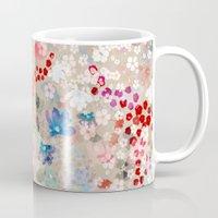 blossom Mugs featuring Blossom by Marta Olga Klara