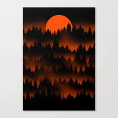 Incendio Canvas Print