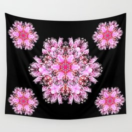 Space bats and pink dragons Wall Tapestry