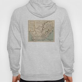 Vintage Map of South Africa (1889) Hoody