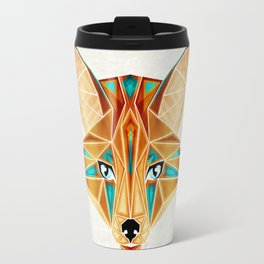blue fox Travel Mug