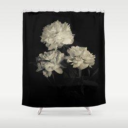 White peonies2 Shower Curtain