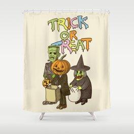 Happy Halloween! Shower Curtain