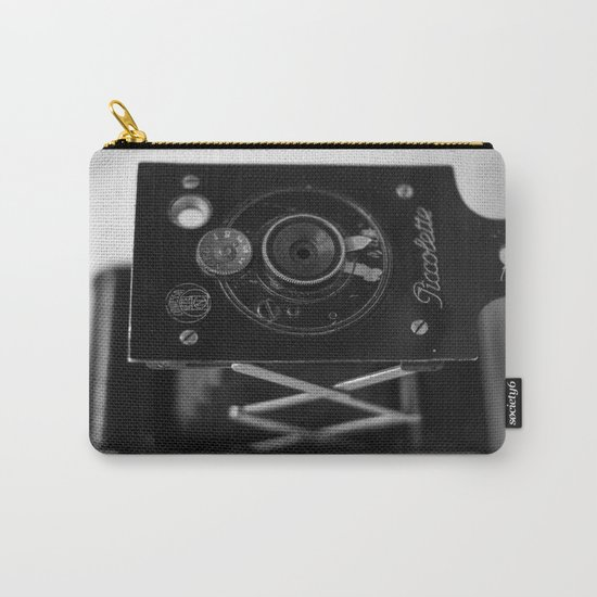 Black and white Vintage camera Carry-All Pouch