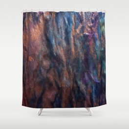Artist's pool Shower Curtain
