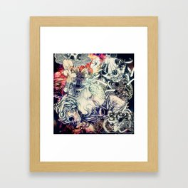 Second Mix Framed Art Print