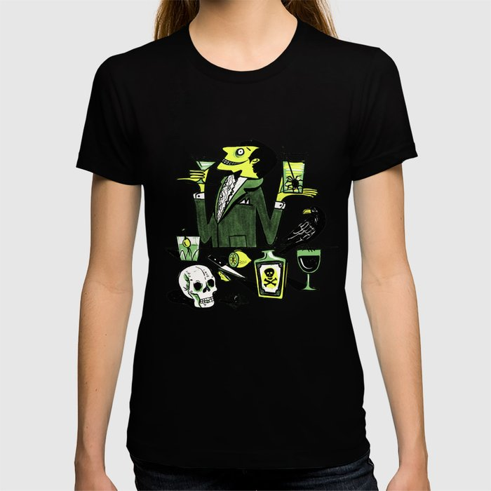 Drinks With The Mad Scientist Next Door T-shirt