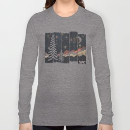 A Starry Night in the Mountains... Long Sleeve T-shirt