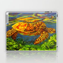 Rainbow Turtle Laptop & iPad Skin