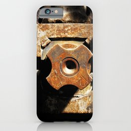 Shaft clutch metal engine iPhone Case