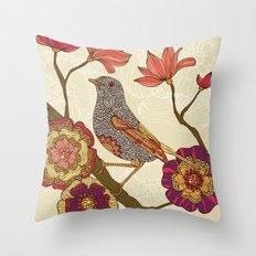 Frisky Christy Throw Pillow