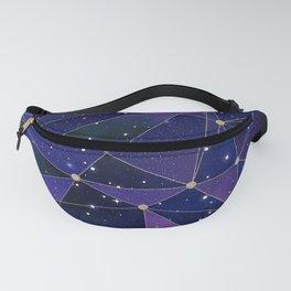 Interstellar Network Pattern Fanny Pack