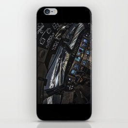 32R Clear to land iPhone Skin