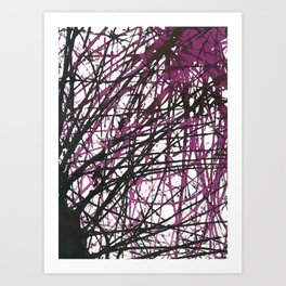 Marble Series, no. 4 Art Print
