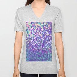 Colorful Mermaid Lights Unisex V-Neck