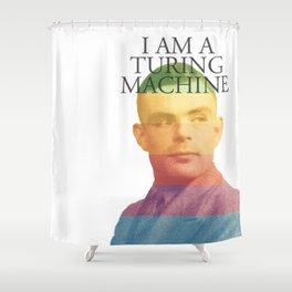 I am a Turing Machine Shower Curtain