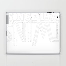 Twins-Since-1971---46th-Birthday-Gifts Laptop & iPad Skin