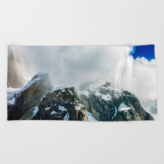 Out Of The Mist Beach Towel