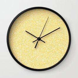 Sunshine Spirals Wall Clock