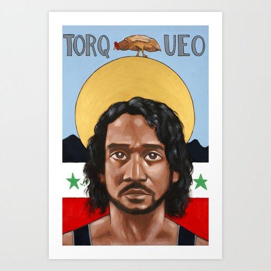 Saints of LOST   Sayid Art Print