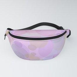 Pink Bubbles Pattern Fanny Pack
