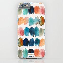 APPARITIONS Brush Stroke Stripe iPhone Case