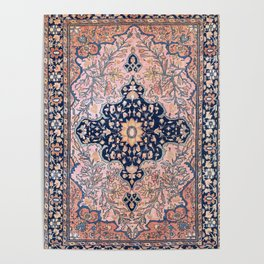 Sarouk  Antique West Persian Rug Print Poster