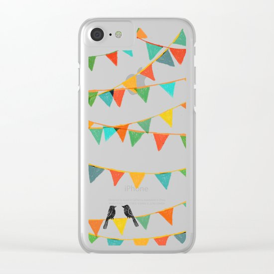 Carnival is coming to town Clear iPhone Case
