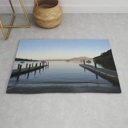 Sunset at Lake Taupo Rug