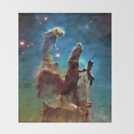 Eagle Nebula's Pillars Throw Blanket