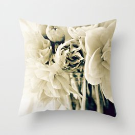 early morning stillness Throw Pillow