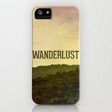 Wanderlust I iPhone (5, 5s) Slim Case