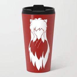 inuyasha minimalist Travel Mug