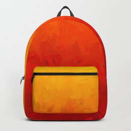 Scarlet and Gold Heat Backpack