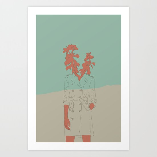 Woman Nature 1 Art Print