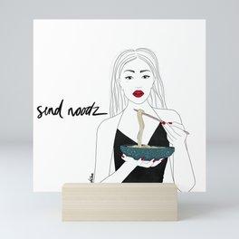 Send Noodz Mini Art Print