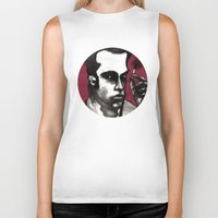 nick cave Biker Tanks featuring Nick Cave by Rafols