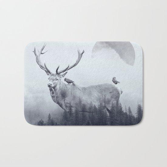 deer autumn Bath Mat