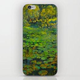 Václav Radimský (1867-1946) Water Lilies Impressionist Landscape Oil Painting iPhone Skin