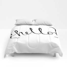 {hello} Comforters