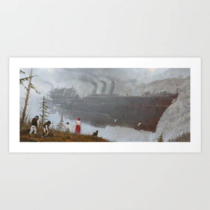 1920 - wind gambit Kunstdrucke