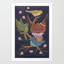 birds song Art Print