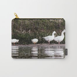Crested Pekin Duck 8 Carry-All Pouch