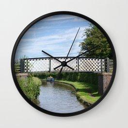 Whitley Bridge Wall Clock