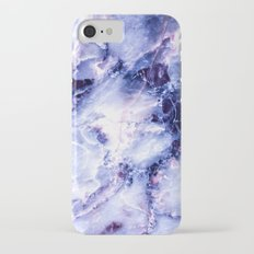 Purple Marble iPhone 7 Slim Case