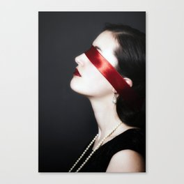 blindfold Canvas Print