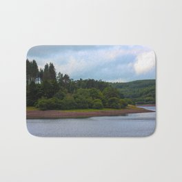 Usk Reservoir 2 Bath Mat