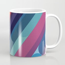 Rainbow Candy Stripes Coffee Mug
