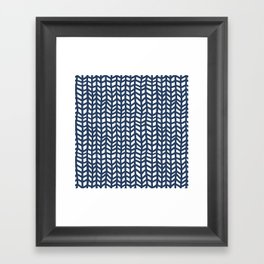 Chevrons Framed Art Print