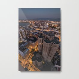 The streets are glowing Metal Print